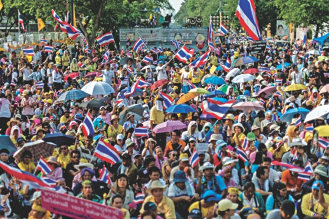 Since Thaksin was ousted by a military coup d'état in 2006, political instability has become somewhat commonplace in Thailand. In 2013 the tension reached its highest.