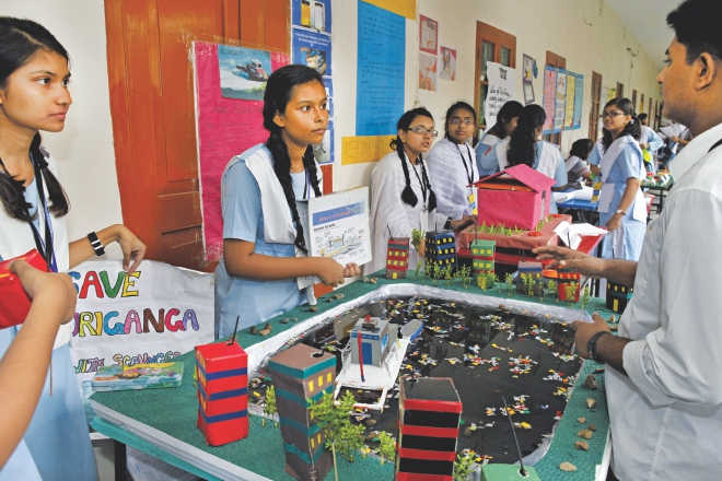 Young science minds show their talent | The Daily Star