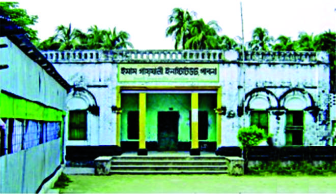 The family house of Suchitra Sen, undoubtedly the most popular actress Bangla cinema has ever seen, is now occupied by Jamaat-backed Imam Gazzali Institute. Photo: Star