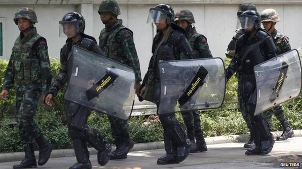 Many detainees freed: Thai military