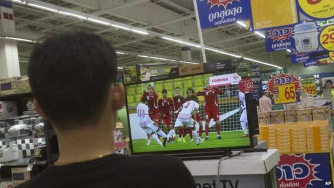 Thai junta orders free World Cup TV