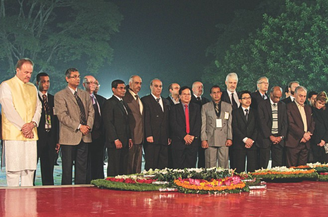 Foreign diplomats in Bangladesh. Photo: Sk Enamul Haq, Anisur Rahman, Palash Khan