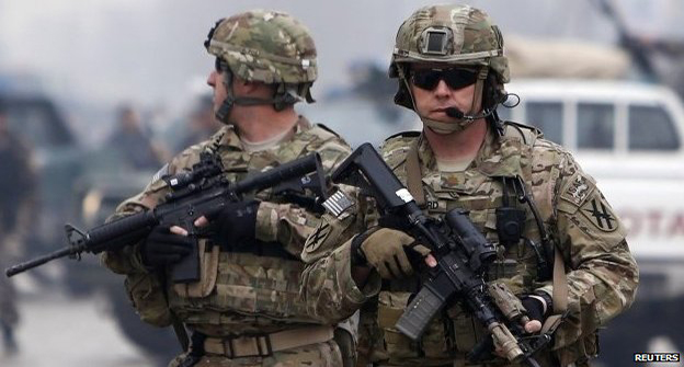 The US has had troops in Afghanistan since 2001