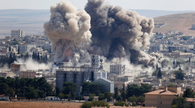 US airstrikes against IS have hurt moderate rebels