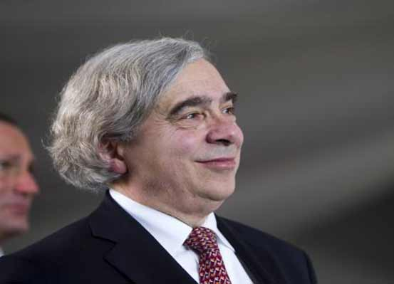 United States Secretary of Energy Ernest Moniz attends the grand opening of the Ivanpah Solar Electric Generating System in the Mojave Desert near the California-Nevada border on February 13, 2014. Photo: Reuters