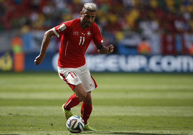 Valon Behrami. Photo: Getty Images
