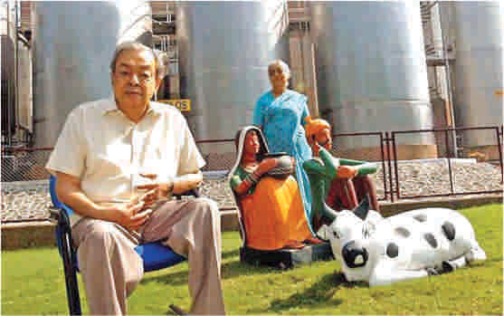 Verghese Kurien. Photo: AFP