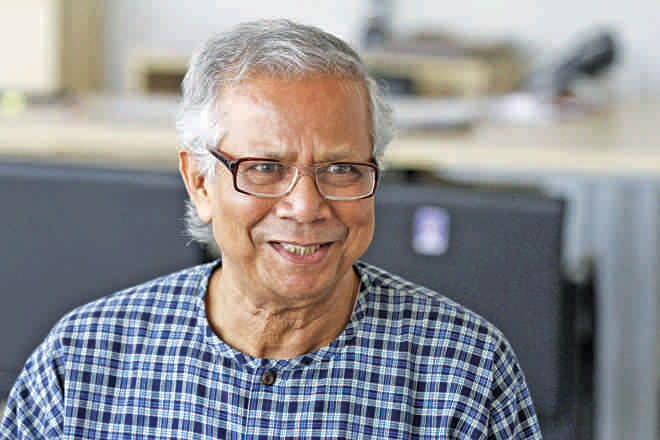 Dr Muhammad Yunus. Photo: Star File