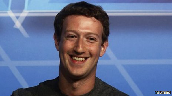 Mark Zuckerberg is one of the founders of the Facebook social network