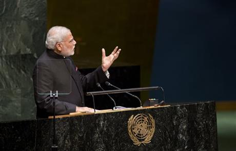 India serious about peace with Pakistan: Modi