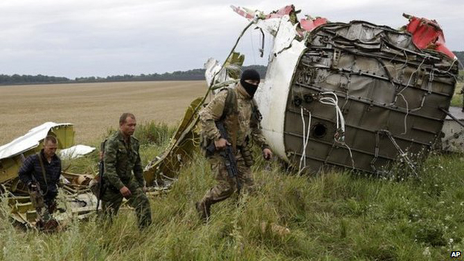 Numerous objects hit MH17: Dutch experts