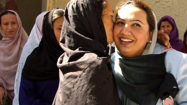 Afghan woman MP survives car attack