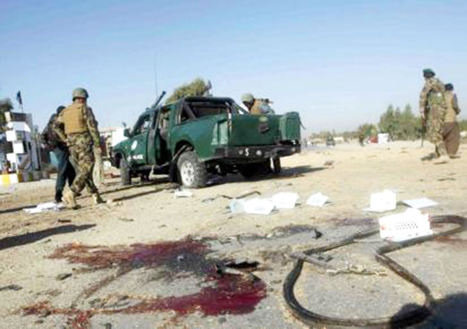 Taliban bombs kill 10 cops in Afghanistan