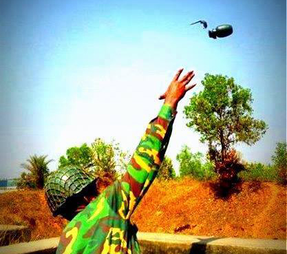 Photo taken from Bangladesh Army, a facebook page
