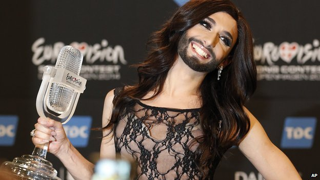 Conchita Wurst had been second favourite to win going into the contest