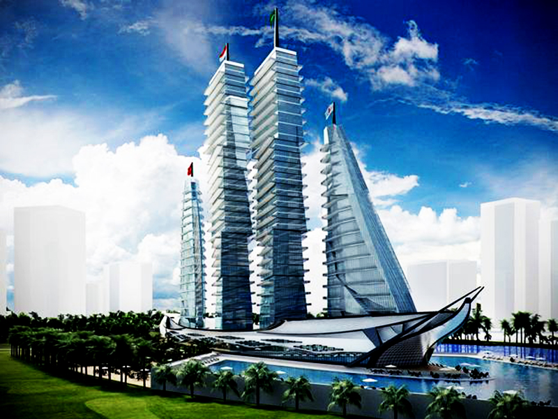 Vasily Klyukin says White Sails Hospital and Spa will be 'most pleasant in the world'. Photo: The Independent