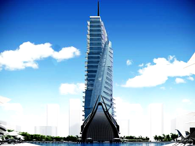 The White Sails Hospital and Spa is to be built in the new Tunisia Economic City. Photo: The Independent