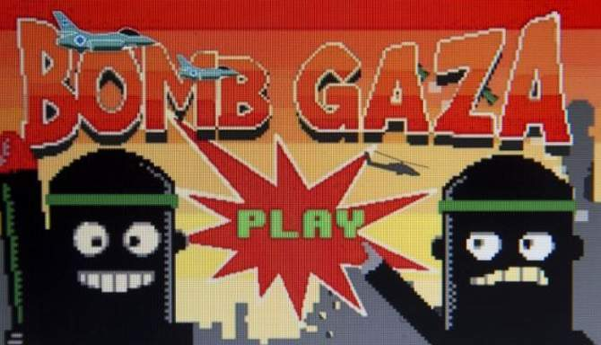 Bomb Gaza: The game was developed for Android phones and was downloaded roughly 1,000 times before it was withdrawn following complaints.