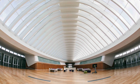 Shelfless … Florida Polytechnic University's new library. Photograph: Rocket Science Photography/ The Guardian