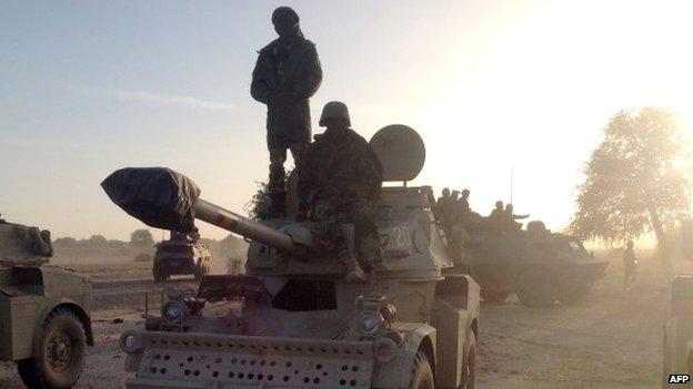 Chad's troops enter Nigeria