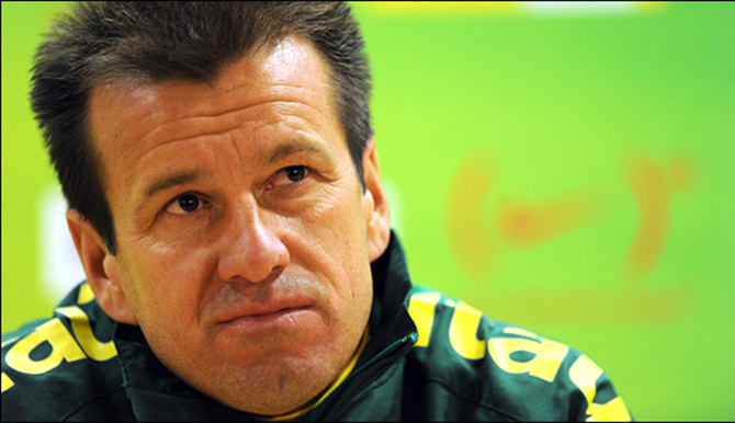 Brazil name Dunga to replace Scolari