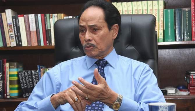 Jatiya Part Chairman HM Ershad