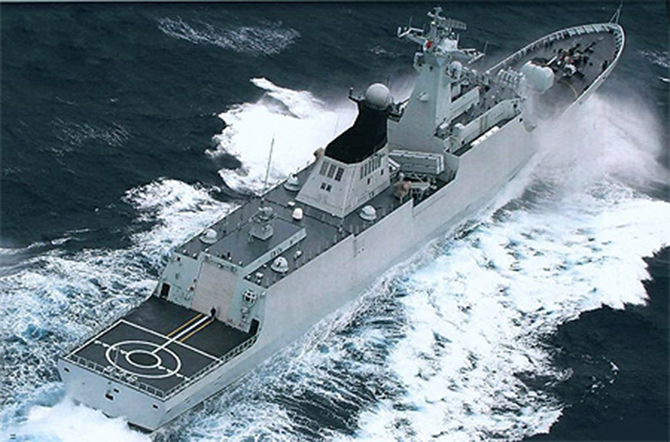 Bangladesh buy the frigate from China earlier