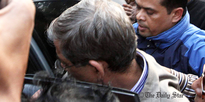 Fakhrul held, taken to DB HQ