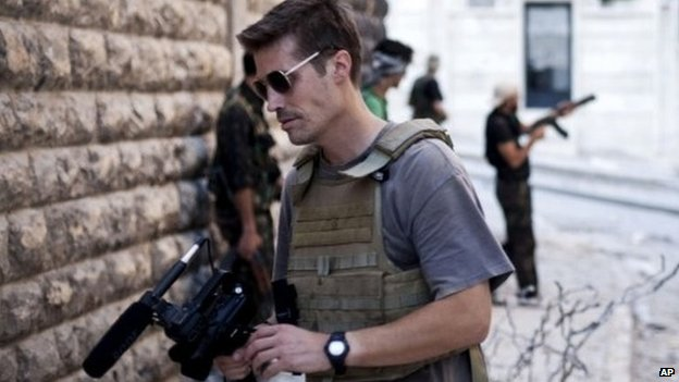 James Foley was reporting in Syria when he was captured in 2012. Photo: AP