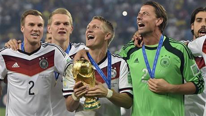 Germany top of FIFA rankings after WC win