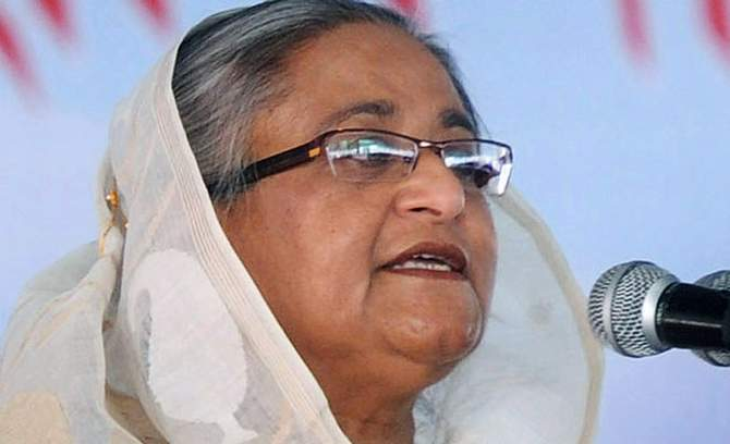Prime Minister Sheikh Hasina. Photo: Star/File