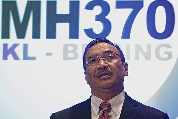 Acting Transport Minister Hishammuddin Tun Hussein. Photo: The Star