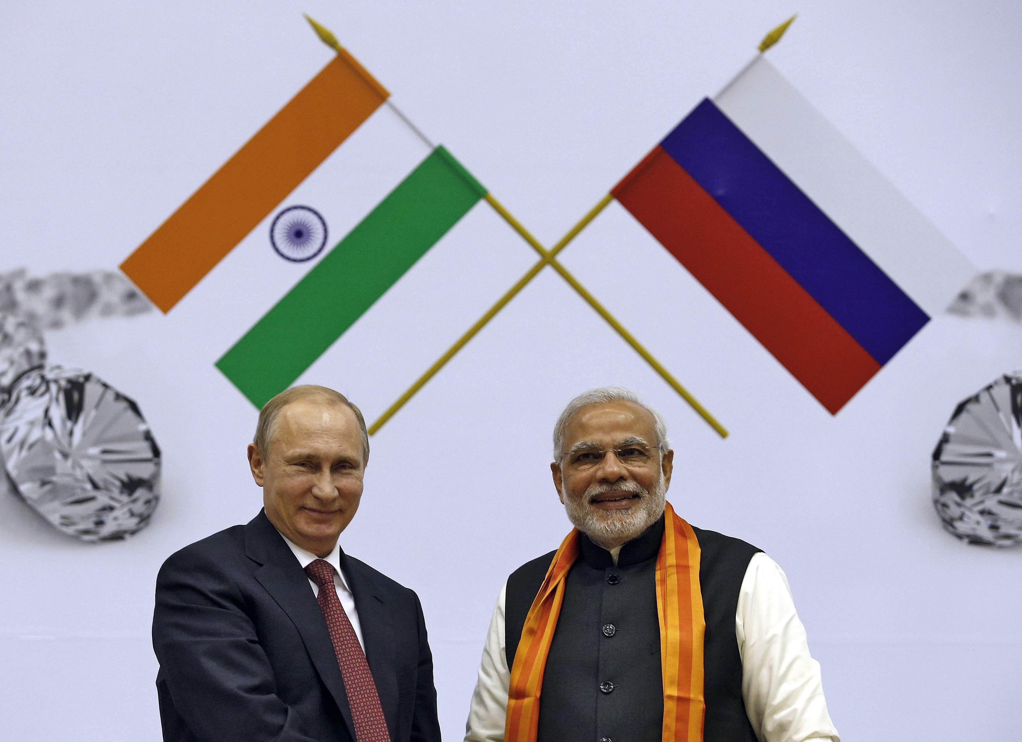 Russia-India: Putin agrees to build 10 nuclear reactors