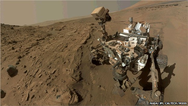 Methane 'belches' detected on Mars