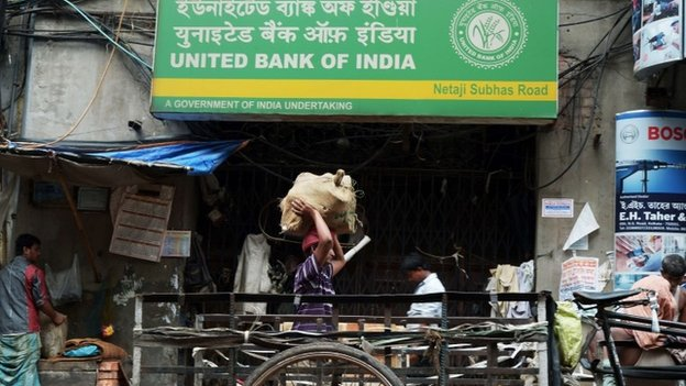 Millions of Indians have no access to financial services. Photo: BBC