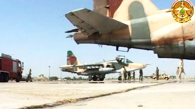 'Iran aiding Iraq' with fighter jets