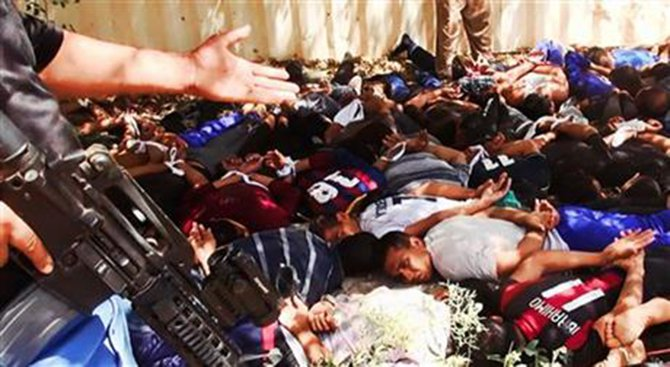 Militants post images of Iraq mass killing