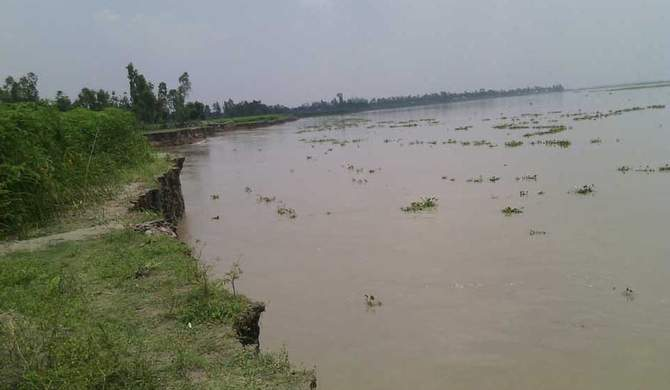 A view of Jamuna river located at Gaibandha district. Star file photo