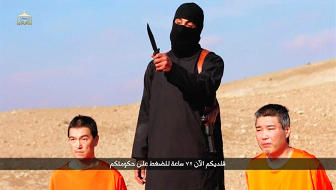 Japan condemns IS execution