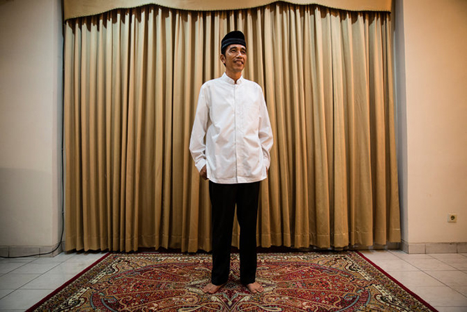 Joko Widodo, the governor of Jakarta, will be sworn in next month as the leader of the world's fourth-most-populous nation. Photo taken from The New York Times