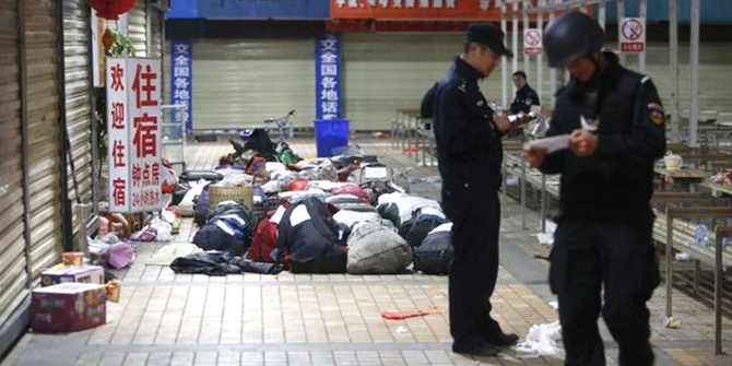 Saturday's attack at Kunming station killed 29 people and injured more than 130 others. Photo: Reuters