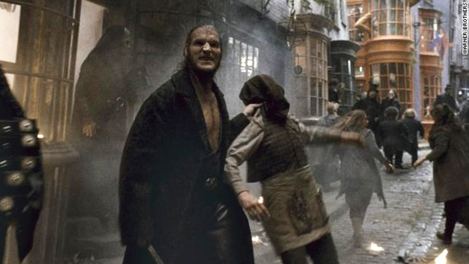 "David Legeno played Fenrir Greyback in the ""Harry Potter"" movies. Photo: CNN"
