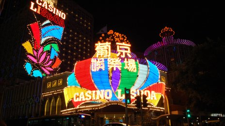 Gambling has grown rapidly in Macau over recent years