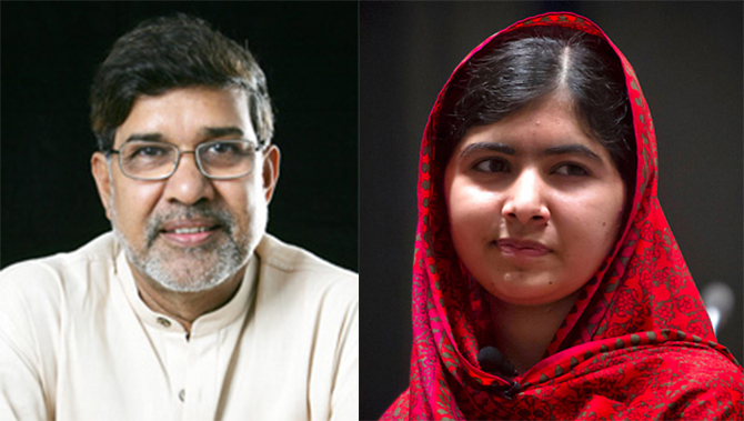 Nobel Peace Prize goes to Malala, Kailash
