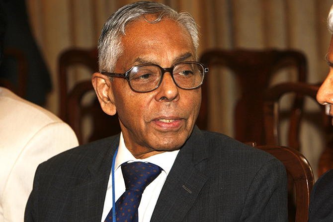 MK Narayanan. Photo: Getty Images