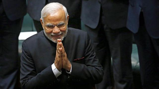 Modi named Asian of the Year 2014