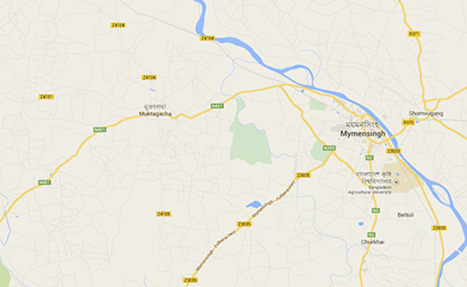 Police attacked, accused snatched away in Mymensingh