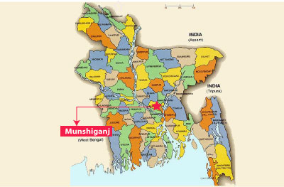 4 of a family killed in Munshiganj fire