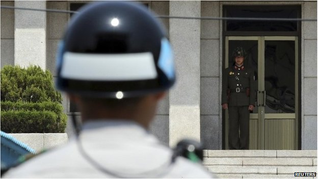 North Korean agents are particularly sensitive to religious material