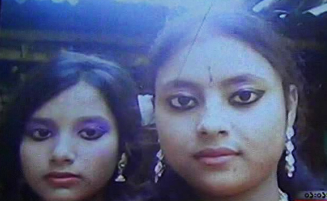 The victims are Moyna Begum and her daughter Swapna. Photo: TV grab